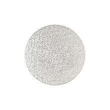 Runde Kuchenplatte, 25 cm Ø silber