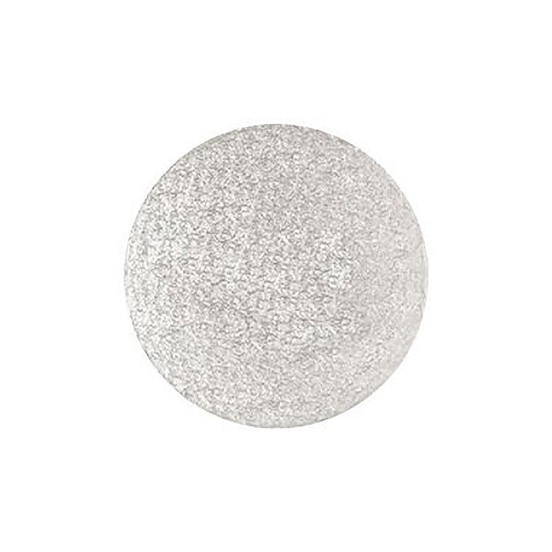 25cm Silver Cake Board Drum - Round