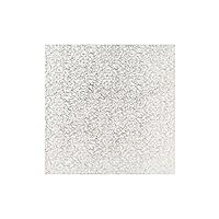 Quadratische Kuchenplatte, 25cm silber