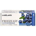 100 Flat Freezeasy Food Freezer Bags 13 x 18cm