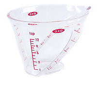 OXO Good Grips® Mini Angled Measure Beaker Measuring Jug 60ml