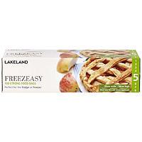 100 Freezeasy Food Freezer Bags - Flat (25