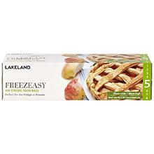 100 Freezeasy Gefrierbeutel für Lebensmittel - 25 x 38 cm