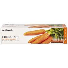 100 Freezeasy Gefrierbeutel für Lebensmittel - 30 x 46 cm