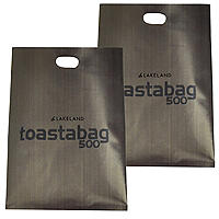 2 Lakeland Toastabags - Toasted Sandwiches In A Toaster