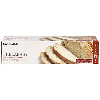 100 Flat Freezeasy Food Freezer Bags 28 x 41cm
