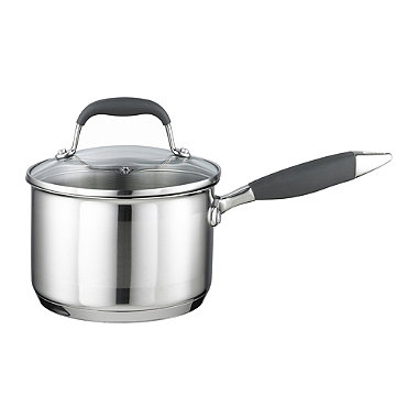 Lakeland Stainless Steel 16cm Lidded Saucepan
