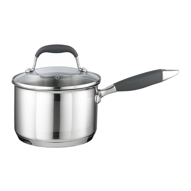 Stainless Steel Lidded Saucepan 1.9L - 16cm