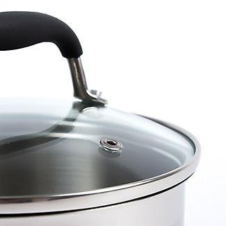 Lakeland Stainless Steel Lidded Saucepan 1.9L - 16cm alt image 3