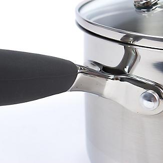 Lakeland Stainless Steel Lidded Saucepan 1.9L - 16cm alt image 4