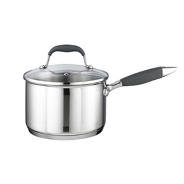 Lakeland Stainless Steel 18cm Lidded Saucepan