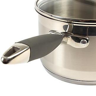 Lakeland Stainless Steel Lidded Saucepan 2.7L - 18cm alt image 3
