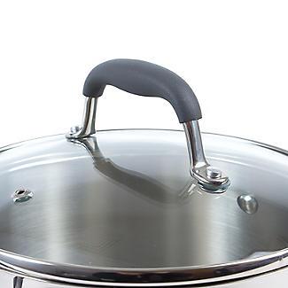 Lakeland Stainless Steel Lidded Saucepan 3.7L - 20cm alt image 4