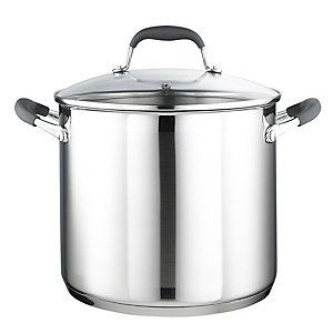 Lakeland Stainless Steel 24cm Lidded Stockpot