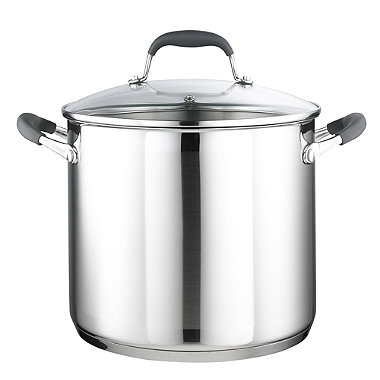 Stainless Steel 24cm Lidded Stockpot