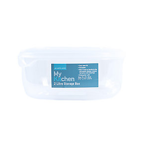 2 litre square Storage Box