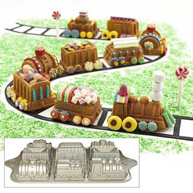 Steam Train Cake Mould