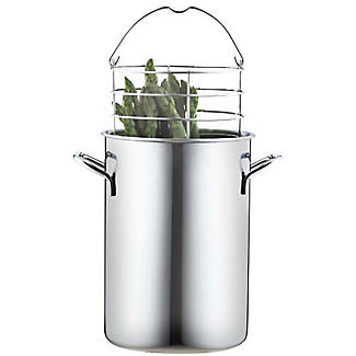 Stainless Steel Upright Asparagus Steamer Kettle 2.8L alt image 1