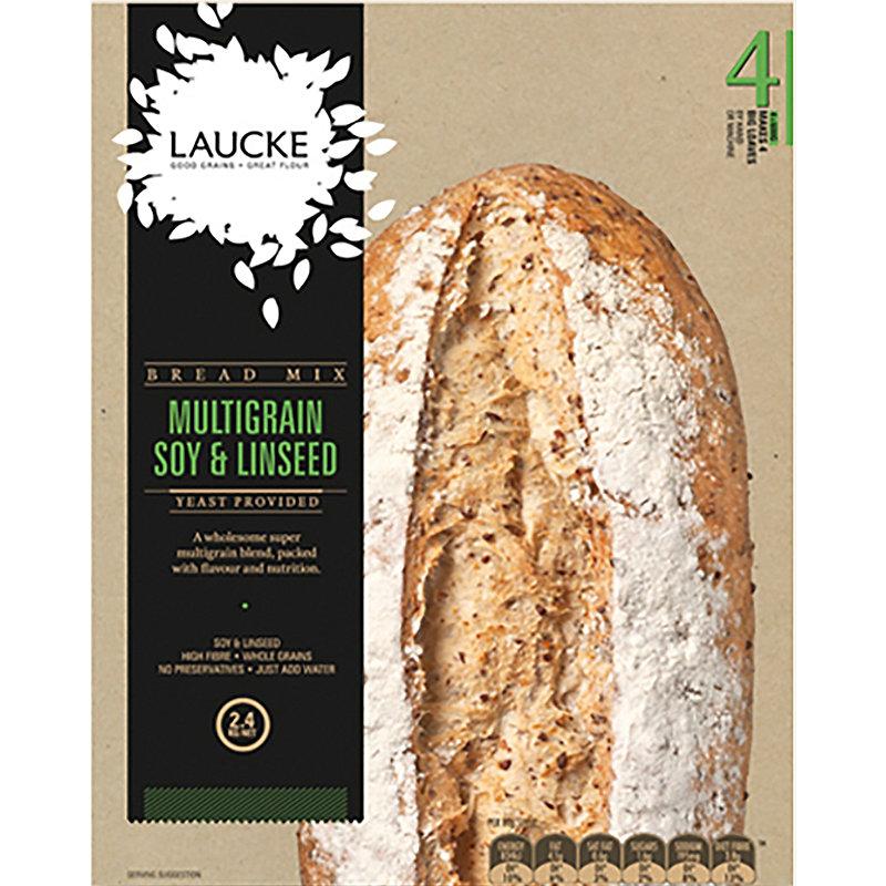 Multigrain Soy & Linseed Bread Machine Premix