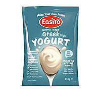 EasiYo Unsweetened Greek Style Yogurt Sachet Mix (5 x 165g)