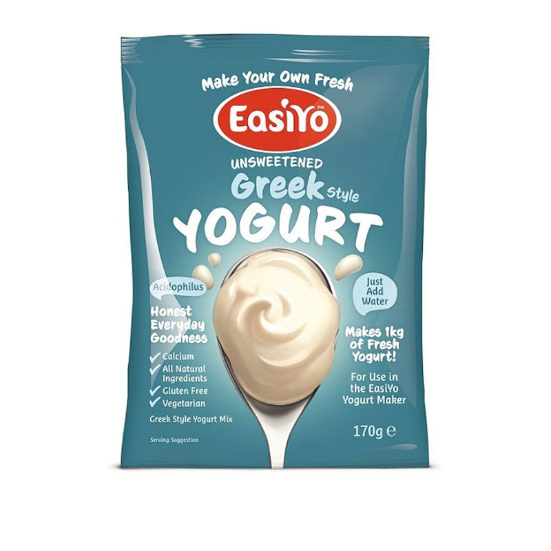 EasiYo Unsweetened Greek Style 1kg Yogurt Mix