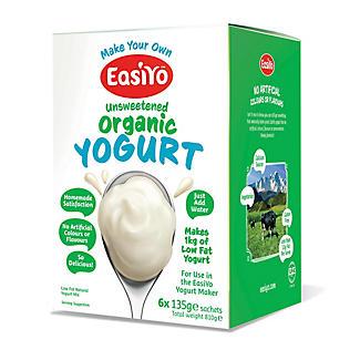 EasiYo Organic Mixes