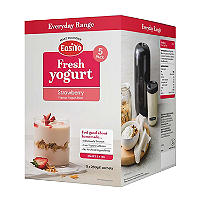 EasiYo Strawberry 1kg Yogurt Sachet Mix (5 x 240g)