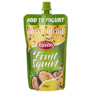 EasiYo Yogurt Fruit Squirt - Passionfruit 250g