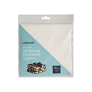 18cm Baking Parchment Squares