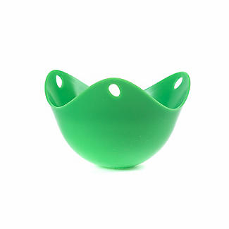 Green poachpod® 2 Silicone Egg Poaching Pods alt image 5