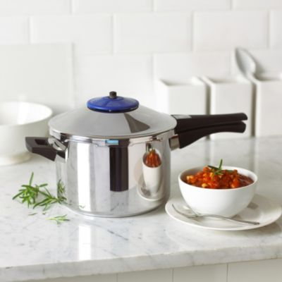 kuhn rikon stainless steel safe pressure cooker 5l. Black Bedroom Furniture Sets. Home Design Ideas