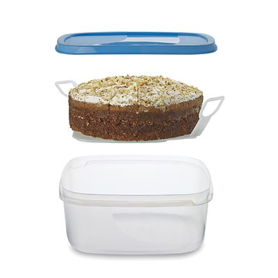 Cake Box with Lifter in cake storage at Lakeland