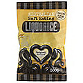 Black Soft Eating Liquorice - Natural