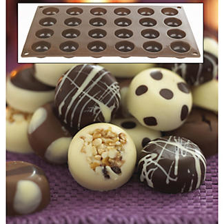 Silicone Button Chocolate Mould
