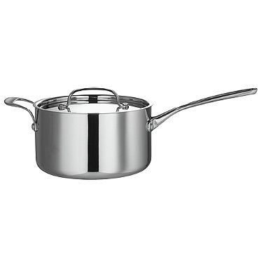 Tri-Ply Cookware Lidded Saucepan 3L - 20cm