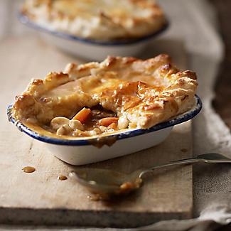 Traditional Enamel 16cm Oblong Pie Dish alt image 2