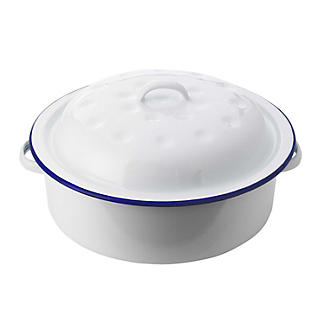 Traditional Enamel Round Roaster