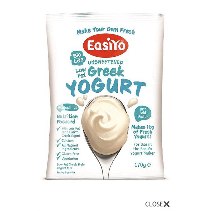 EasiYo Low Fat Greek Style 1kg Yogurt Mix