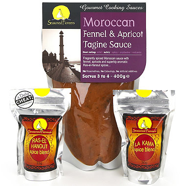 Seasoned Pioneers Tagine Starter Kit