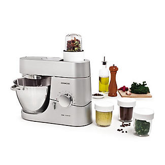 Kenwood Chef Multi Mill Attachment and 3 Jars AT320B alt image 3