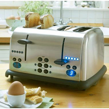 Lakeland 4 Slice Digital Toaster