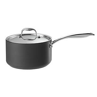 Lakeland Hard Anodised Lidded Saucepan 3.5L - 20cm