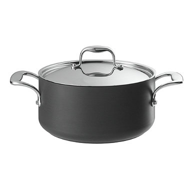 Lakeland Hard Anodised 24cm Lidded Casserole Pan