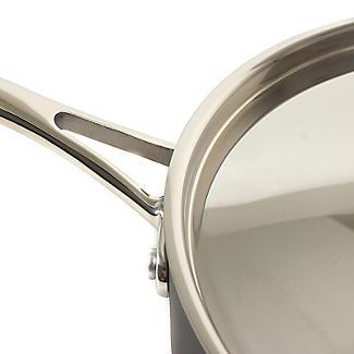 Lakeland Hard Anodised 26cm Lidded Saute Pan alt image 3