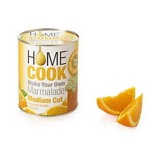 Home Cook Marmalade - Prepared Seville Oranges Medium Cut 850g