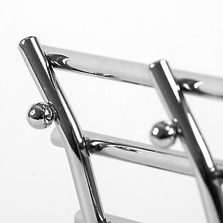 Wavy Chrome Hot Pan Trivet Rack Stand alt image 3