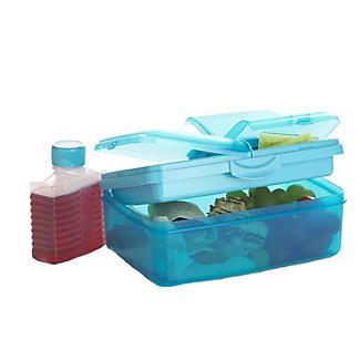 Summer Picnic Slimline Quaddie Lunchbox