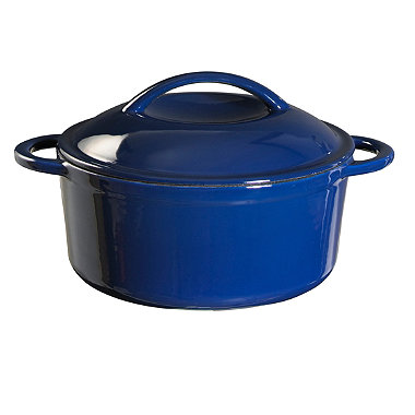 Cast-Iron Lidded Casserole