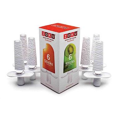 6 Spare Zoku® Lolly Sticks