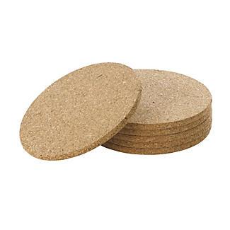 6 Cork Table Mats